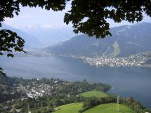 View of lake Zell